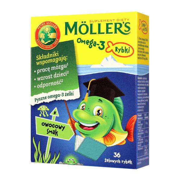 Меллер рыбки с фруктовым вкусом