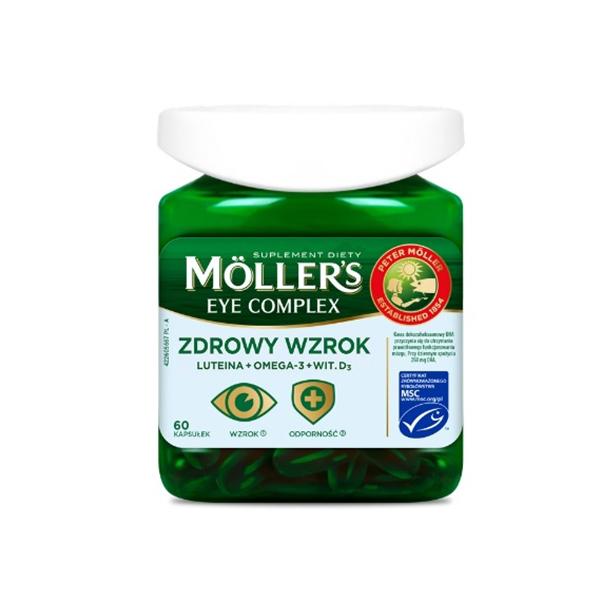 Витамины для глаз с омега-3 Моллерс